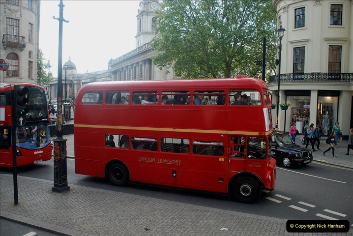 2019-05-12 Touring Central London Day 1. (215) Routemaster ride. 215