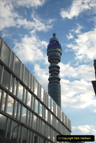 2019-05-12 Touring Central London Day 1. (239) The Post Office Tower. 239