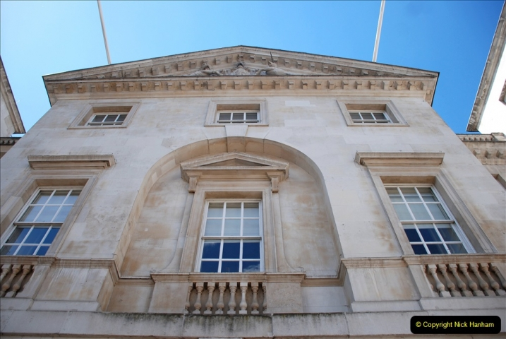 2019-05-12 Touring Central London Day 1. (39) Horse Guards. 039