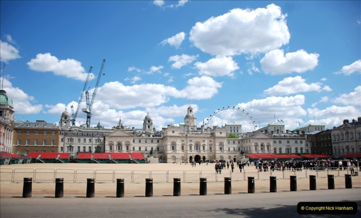 2019-05-12 Touring Central London Day 1. (43) Horse Guards. 043