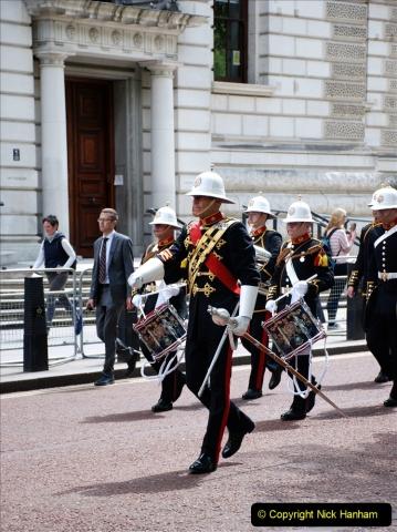 2019-05-12 Touring Central London Day 1. (46) Royal Marines Vetrans Parade. 046