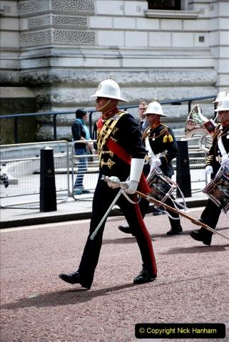 2019-05-12 Touring Central London Day 1. (47) Royal Marines Vetrans Parade. 047