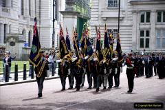 2019-05-12 Touring Central London Day 1. (51) Royal Marines Vetrans Parade. 051