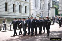 2019-05-12 Touring Central London Day 1. (52) Royal Marines Vetrans Parade. 052