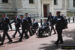 2019-05-12 Touring Central London Day 1. (55) Royal Marines Vetrans Parade. 055