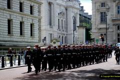 2019-05-12 Touring Central London Day 1. (56) Royal Marines Vetrans Parade. 056