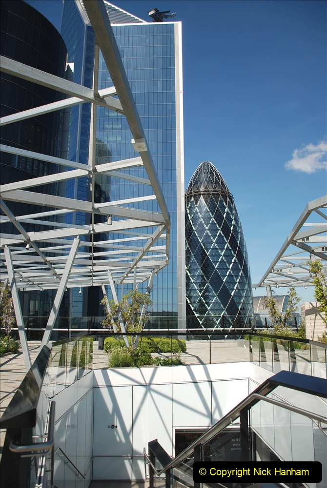 2019-05-13 Touring Central London. (146) The Garden at 120 Fenchurch Street on Floor 15. 146
