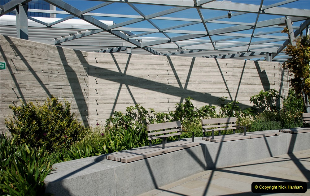 2019-05-13 Touring Central London. (148) The Garden at 120 Fenchurch Street on Floor 15. 148