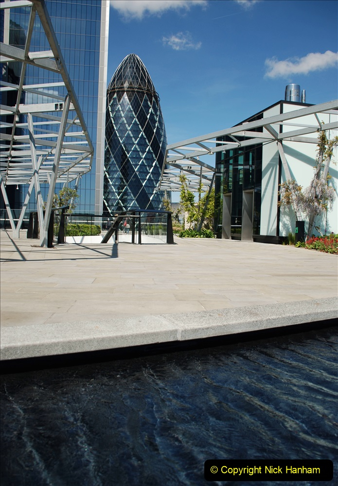 2019-05-13 Touring Central London. (154) The Garden at 120 Fenchurch Street on Floor 15. 154