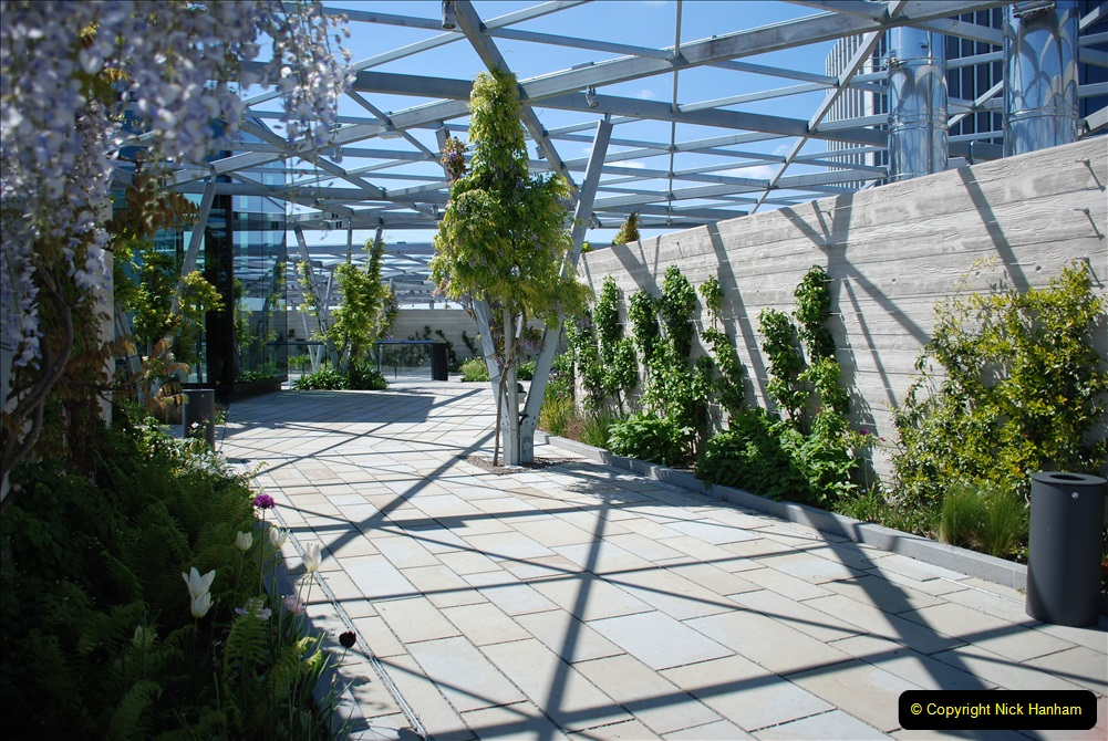 2019-05-13 Touring Central London. (163) The Garden at 120 Fenchurch Street on Floor 15. 163