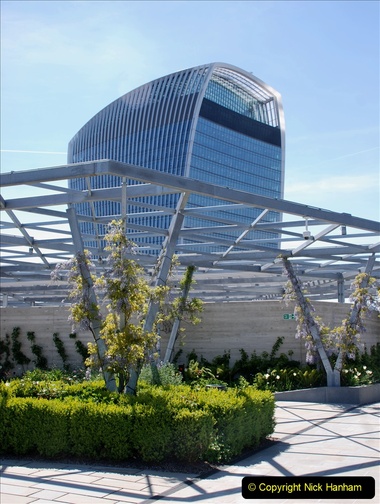 2019-05-13 Touring Central London. (181) The Garden at 120 Fenchurch Street on Floor 15. 181