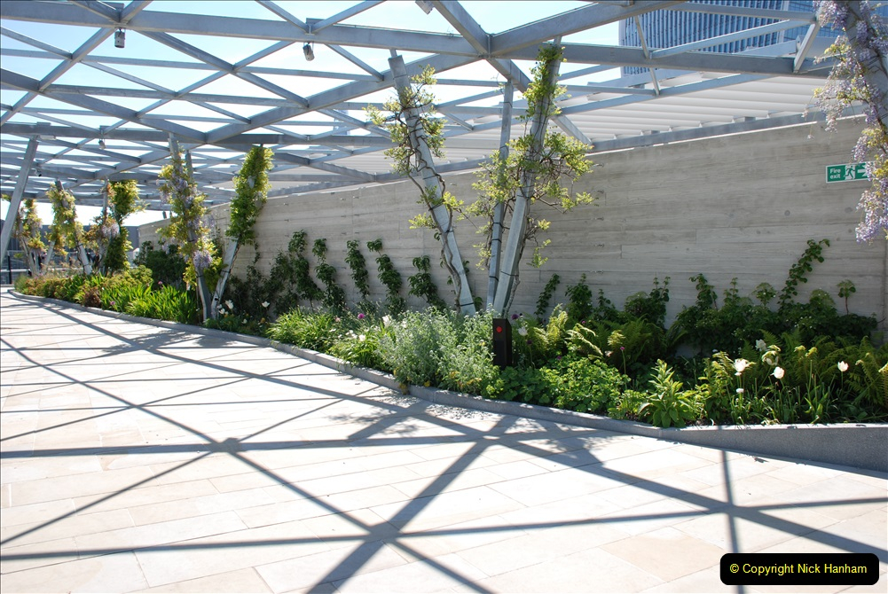 2019-05-13 Touring Central London. (185) The Garden at 120 Fenchurch Street on Floor 15. 185