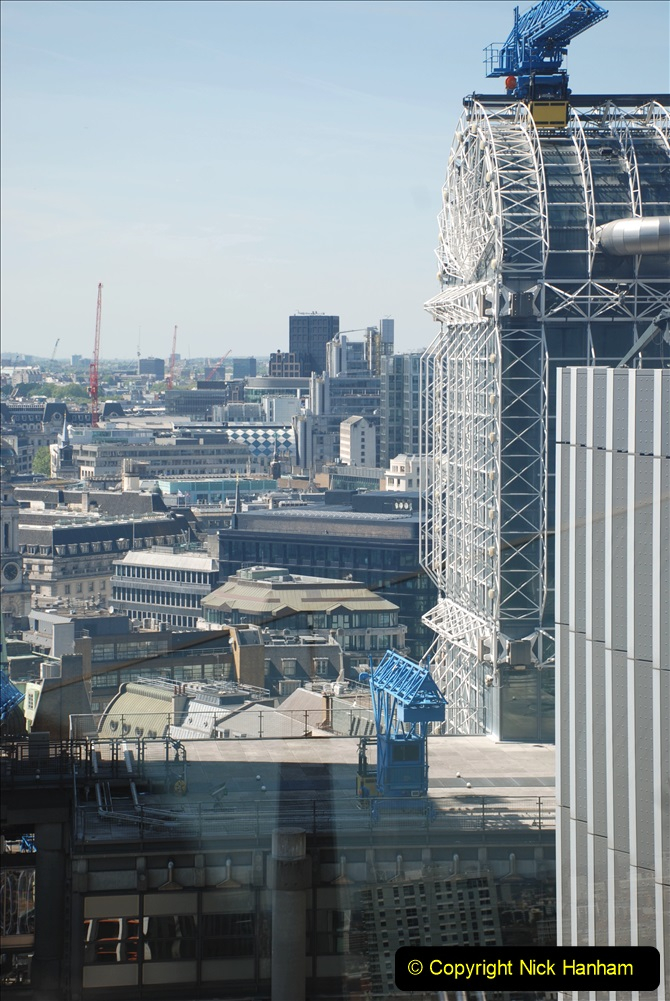 2019-05-13 Touring Central London. (190) The Garden at 120 Fenchurch Street on Floor 15. 190