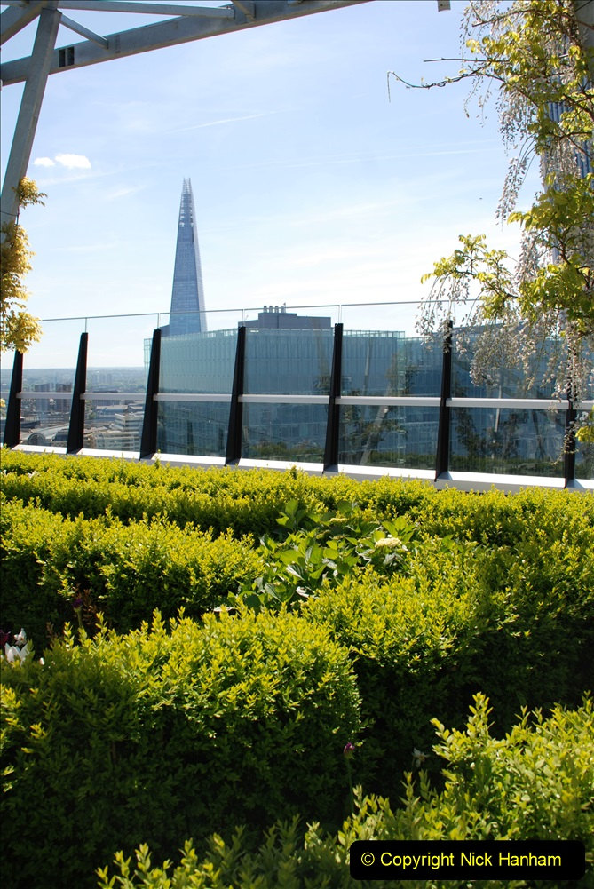 2019-05-13 Touring Central London. (202) The Garden at 120 Fenchurch Street on Floor 15. 202