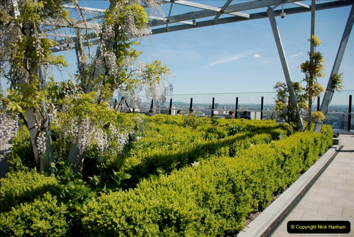 2019-05-13 Touring Central London. (147) The Garden at 120 Fenchurch Street on Floor 15. 147