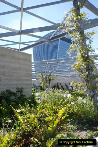 2019-05-13 Touring Central London. (180) The Garden at 120 Fenchurch Street on Floor 15. 180