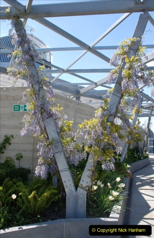 2019-05-13 Touring Central London. (186) The Garden at 120 Fenchurch Street on Floor 15. 186