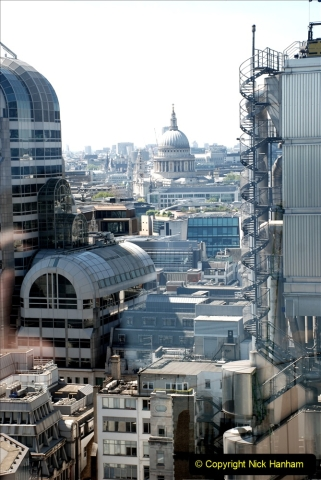 2019-05-13 Touring Central London. (189) The Garden at 120 Fenchurch Street on Floor 15. 189