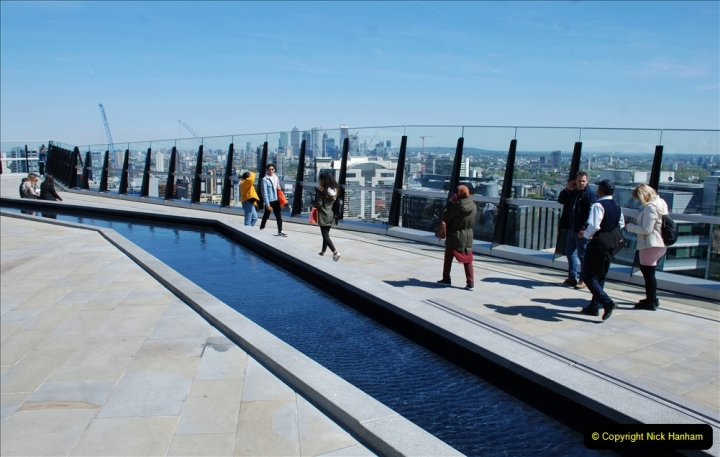 2019-05-13 Touring Central London. (204) The Garden at 120 Fenchurch Street on Floor 15. 204