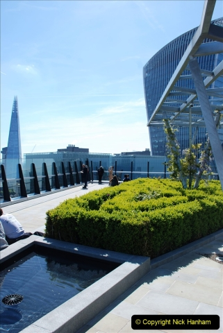 2019-05-13 Touring Central London. (205) The Garden at 120 Fenchurch Street on Floor 15. 205