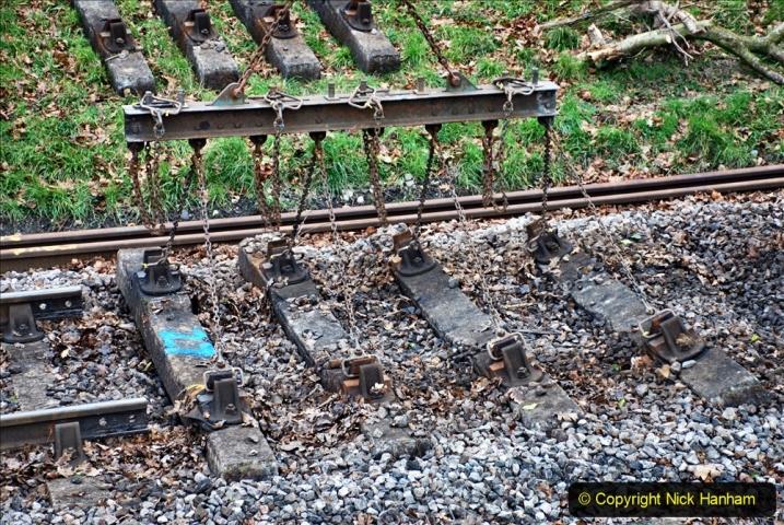 2020-01-06 Track renewal Cowpat Crossing to just beyond Dickers Crossing. (103) 103