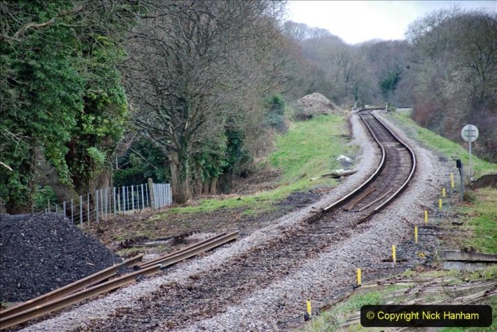 2020-01-06 Track renewal Cowpat Crossing to just beyond Dickers Crossing. (114) 114