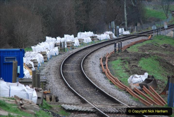 2020-01-06 Track renewal Cowpat Crossing to just beyond Dickers Crossing. (126) 126