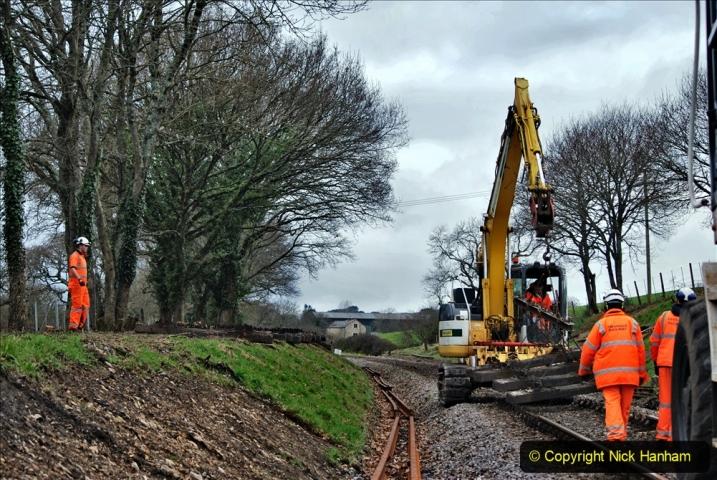 2020-01-06 Track renewal Cowpat Crossing to just beyond Dickers Crossing. (136) 136