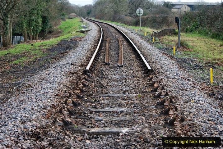 2020-01-06 Track renewal Cowpat Crossing to just beyond Dickers Crossing. (142) 142