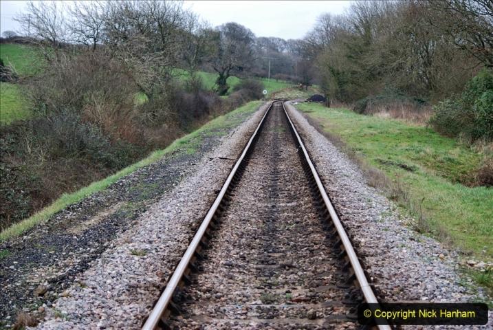 2020-01-06 Track renewal Cowpat Crossing to just beyond Dickers Crossing. (144) 144