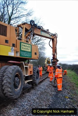2020-01-06 Track renewal Cowpat Crossing to just beyond Dickers Crossing. (15) 015