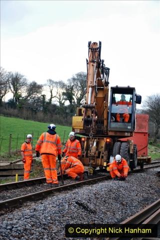2020-01-06 Track renewal Cowpat Crossing to just beyond Dickers Crossing. (29) 029