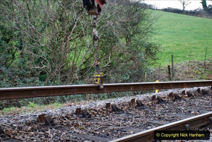 2020-01-06 Track renewal Cowpat Crossing to just beyond Dickers Crossing. (30) 030