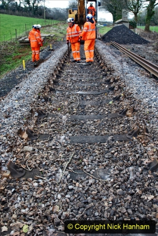 2020-01-06 Track renewal Cowpat Crossing to just beyond Dickers Crossing. (38) 038