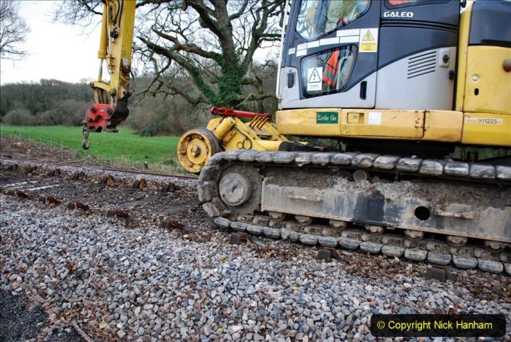2020-01-06 Track renewal Cowpat Crossing to just beyond Dickers Crossing. (43) 043