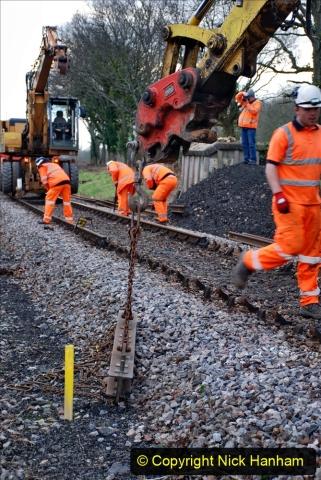 2020-01-06 Track renewal Cowpat Crossing to just beyond Dickers Crossing. (44) 044