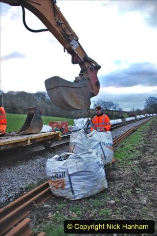 2020-01-06 Track renewal Cowpat Crossing to just beyond Dickers Crossing. (5) 005
