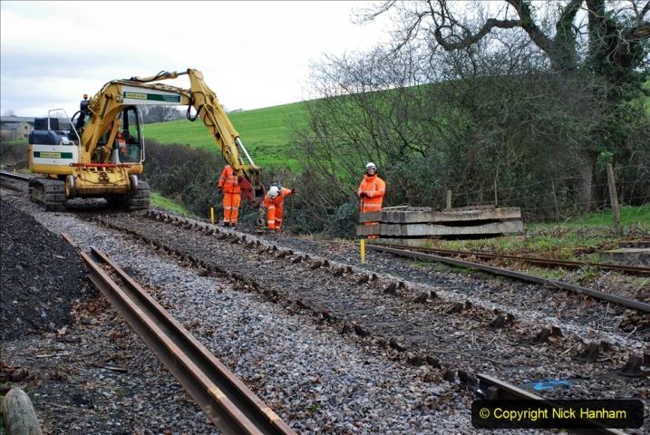 2020-01-06 Track renewal Cowpat Crossing to just beyond Dickers Crossing. (64) 064
