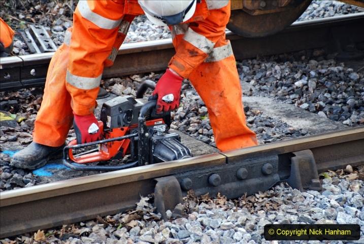 2020-01-06 Track renewal Cowpat Crossing to just beyond Dickers Crossing. (67) 067