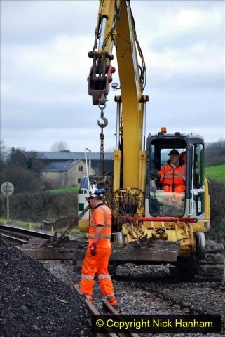 2020-01-06 Track renewal Cowpat Crossing to just beyond Dickers Crossing. (68) 068