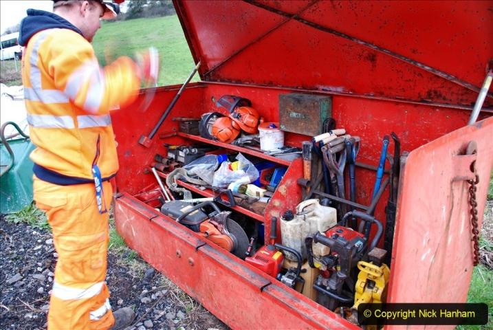 2020-01-06 Track renewal Cowpat Crossing to just beyond Dickers Crossing. (8) 008