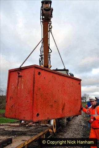 2020-01-06 Track renewal Cowpat Crossing to just beyond Dickers Crossing. (9) 009