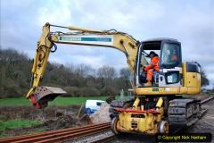 2020-01-06 Track renewal Cowpat Crossing to just beyond Dickers Crossing. (10) 010