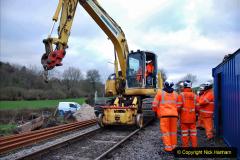 2020-01-06 Track renewal Cowpat Crossing to just beyond Dickers Crossing. (11) 011