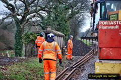 2020-01-06 Track renewal Cowpat Crossing to just beyond Dickers Crossing. (13) 013
