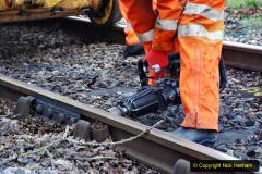 2020-01-06 Track renewal Cowpat Crossing to just beyond Dickers Crossing. (19) 019
