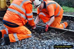 2020-01-06 Track renewal Cowpat Crossing to just beyond Dickers Crossing. (24) 024