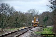 2020-01-06 Track renewal Cowpat Crossing to just beyond Dickers Crossing. (3) 003