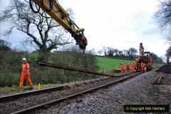 2020-01-06 Track renewal Cowpat Crossing to just beyond Dickers Crossing. (33) 033