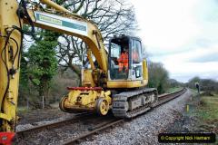 2020-01-06 Track renewal Cowpat Crossing to just beyond Dickers Crossing. (40) 040